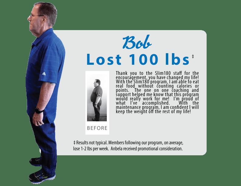 Bob Lost 100lbs
