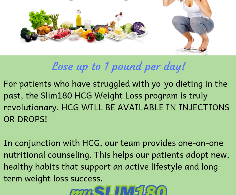 Burn Stored Fat with HCG Dr Supervised Diet