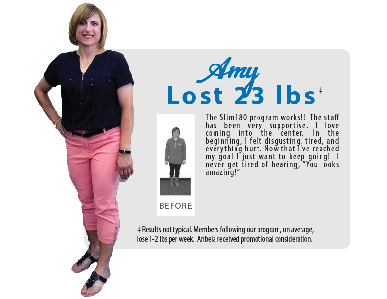 Amy Lost 23 lbs